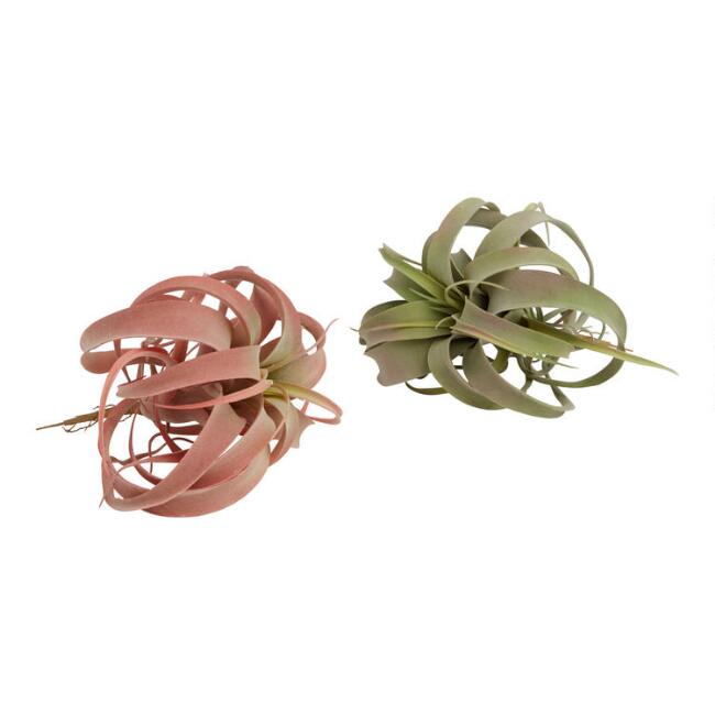 Large Faux Air Plant Pick Set of 2