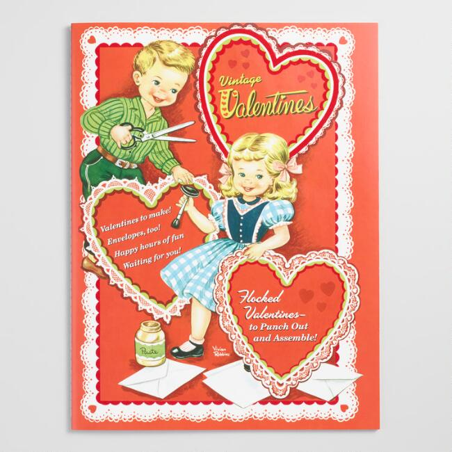 Retro Heart Shaped Valentines 24 Count