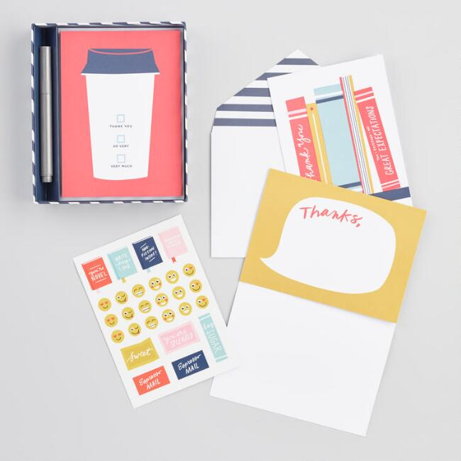 Write On Thank You Notecards 12 Count