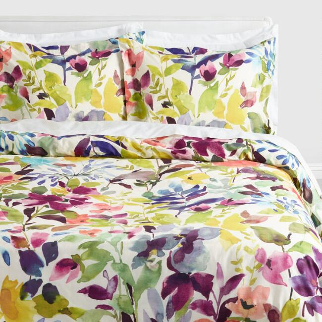 Multicolored Floral Paloma Bedding Collection