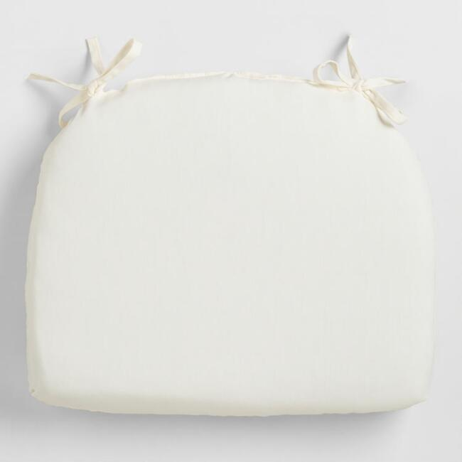 Cadiz Antique White Outdoor Chair Cushion