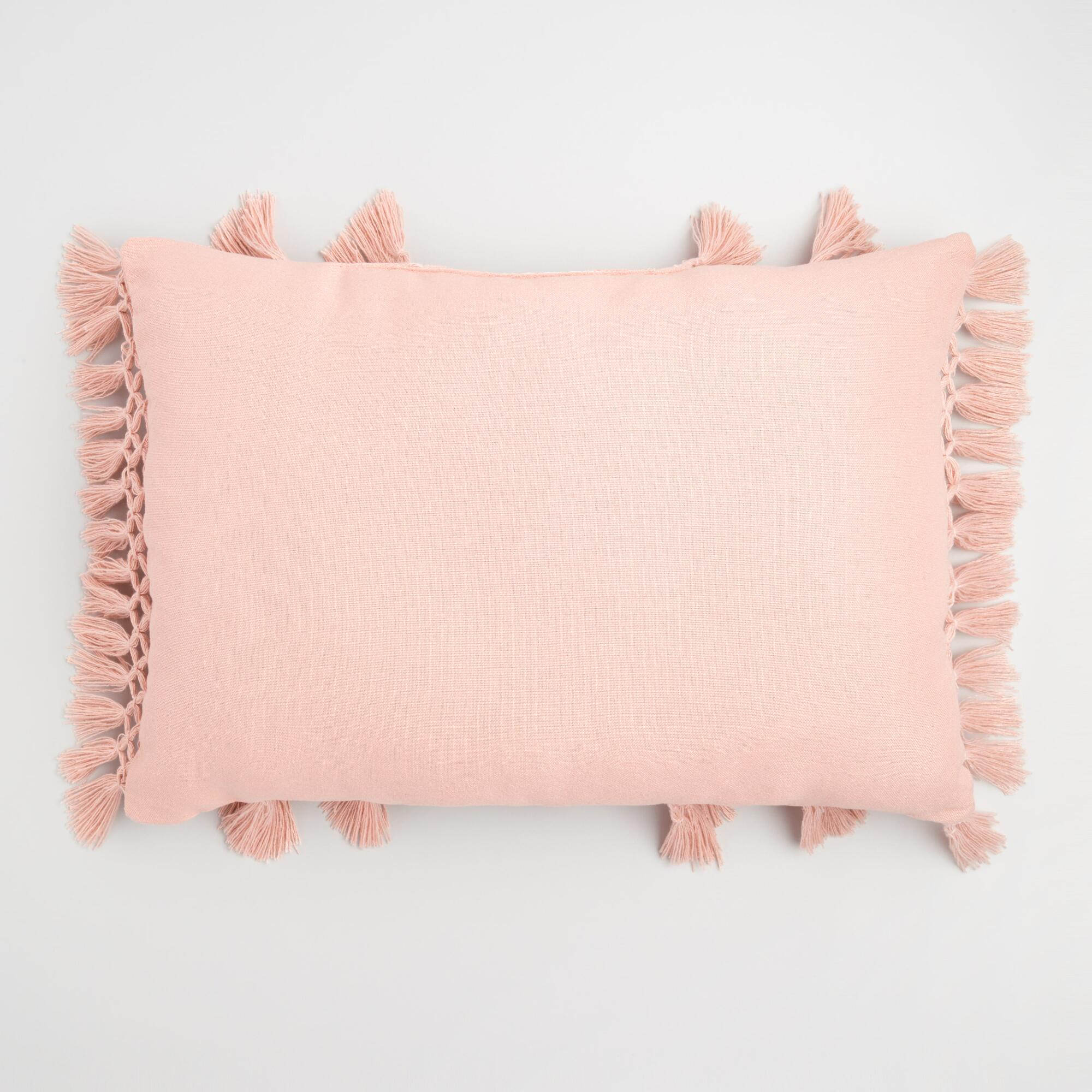 pillows category small decor collections pillow peach decorative lumbar shop twelvehome by