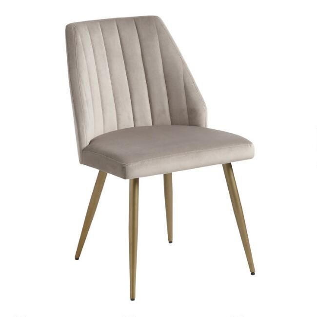 Channel Back Leilani Dining Chairs Set of 2
