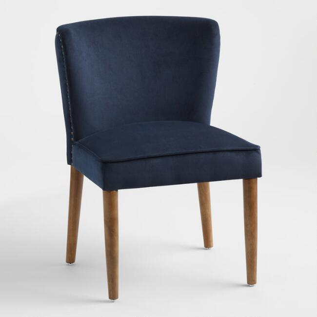 Ink Blue Chloe Dining Chairs Set Of 2
