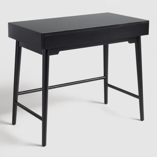 black wood zola desk - Home Office Desk
