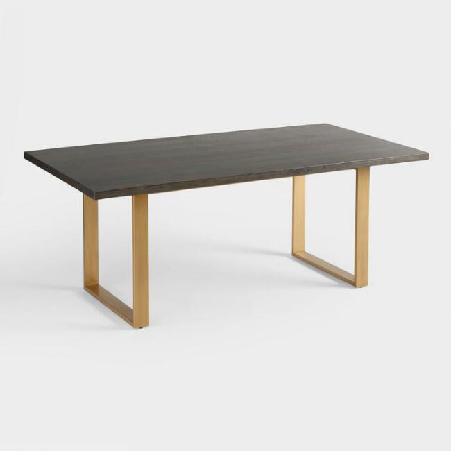 Dining Tables World Market: Wood Smoke Black Radford Dining Table