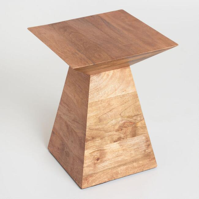 Wood Anton Accent Table