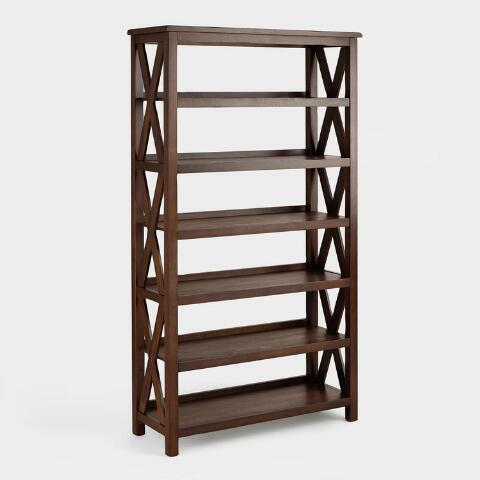 Verona Six Shelf Bookshelf