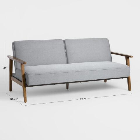 Awesome Xander Convertible Loveseat Ncnpc Chair Design For Home Ncnpcorg