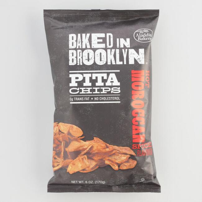 Baked in Brooklyn Hot Moroccan Spice Pita Chips