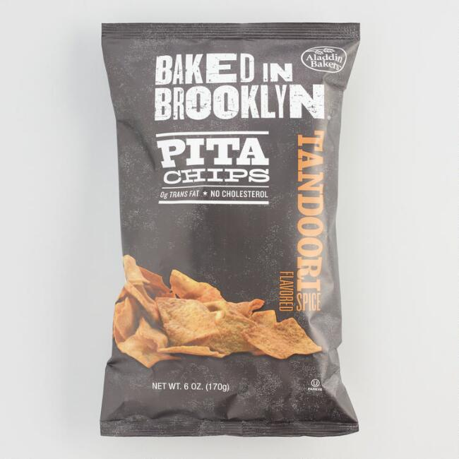 Baked in Brooklyn Tandoori Spice Pita Chips