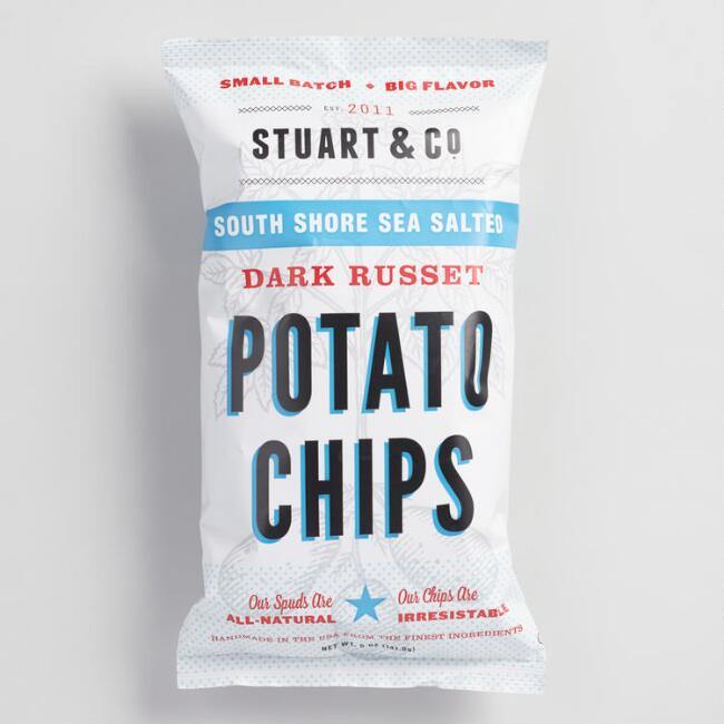 Stuart & Co. South Shore Sea Salt Potato Chips