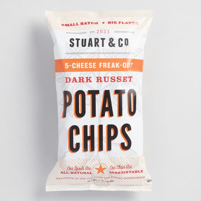 Stuart & Co. 5 Cheese Freak Out Potato Chips