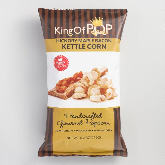 King of Pop Hickory Maple Bacon Kettle Corn