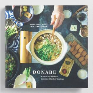 Cookbooks cooking books recipe books world market donabe japanese clay pot cookbook forumfinder Gallery