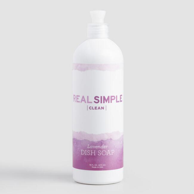 Real Simple Clean Lavender Hand Soap
