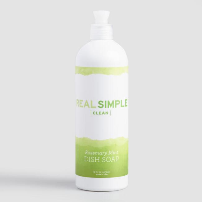 Real Simple Clean Rosemary Mint Dish Soap