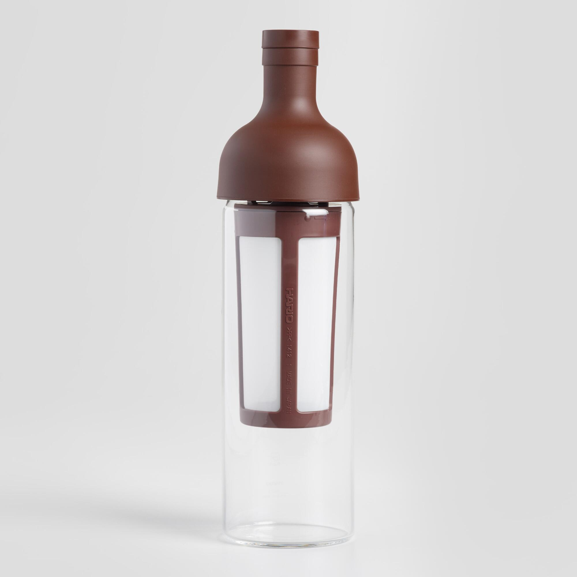 Hario Glass Cold Brew Coffee Bottle: Brown by World Market