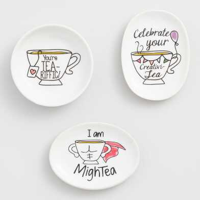 Sentiment Tea Rests Set of 3