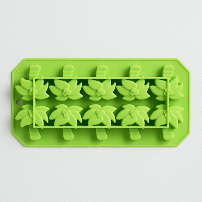 Palm Tree Silicone Ice Cube Tray