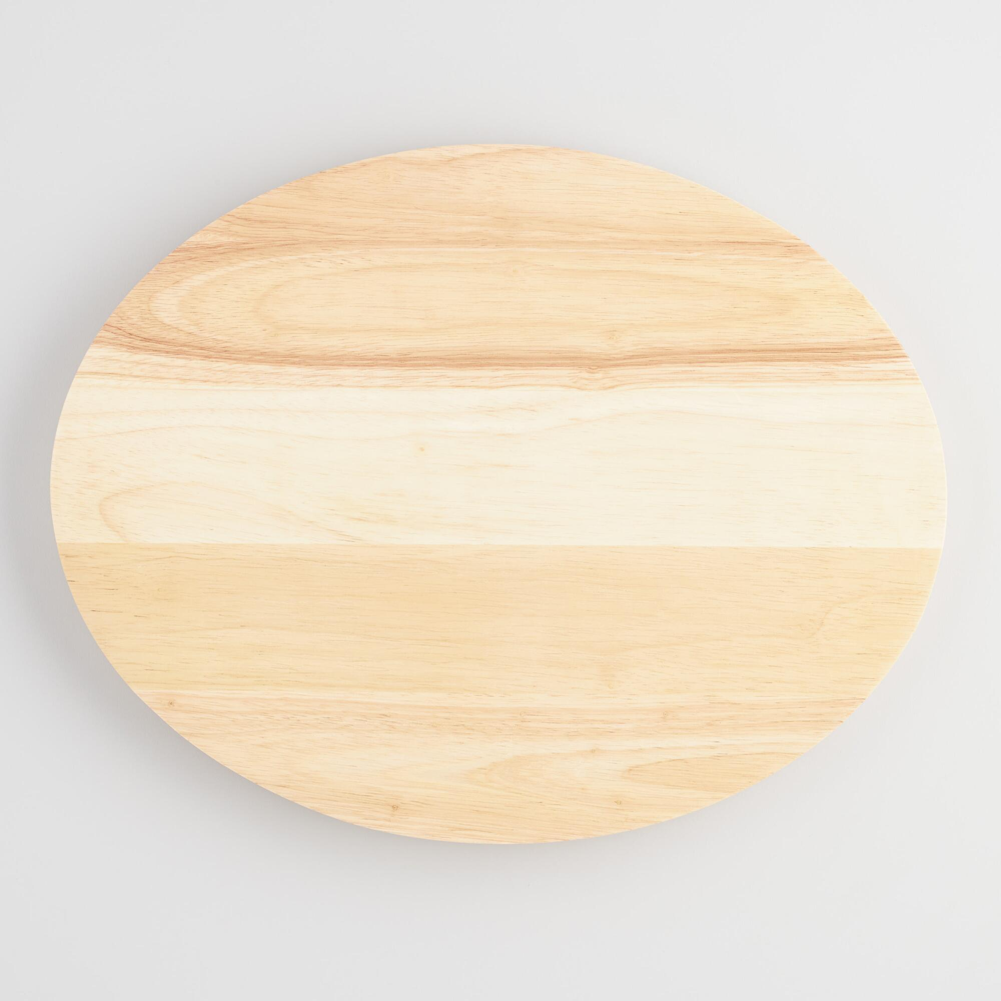 Oval Wood Concave Cutting Board by World Market