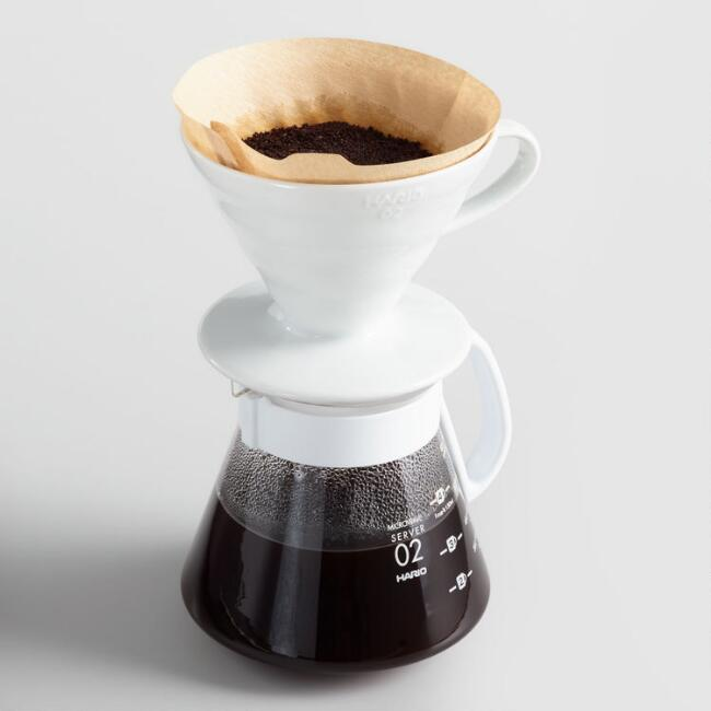 Hario V60 Size 02 Coffee Dripper and Range Server Set