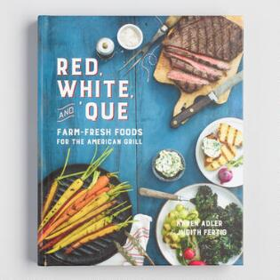 Cookbooks cooking books recipe books world market red white and que bbq grill cookbook forumfinder Images