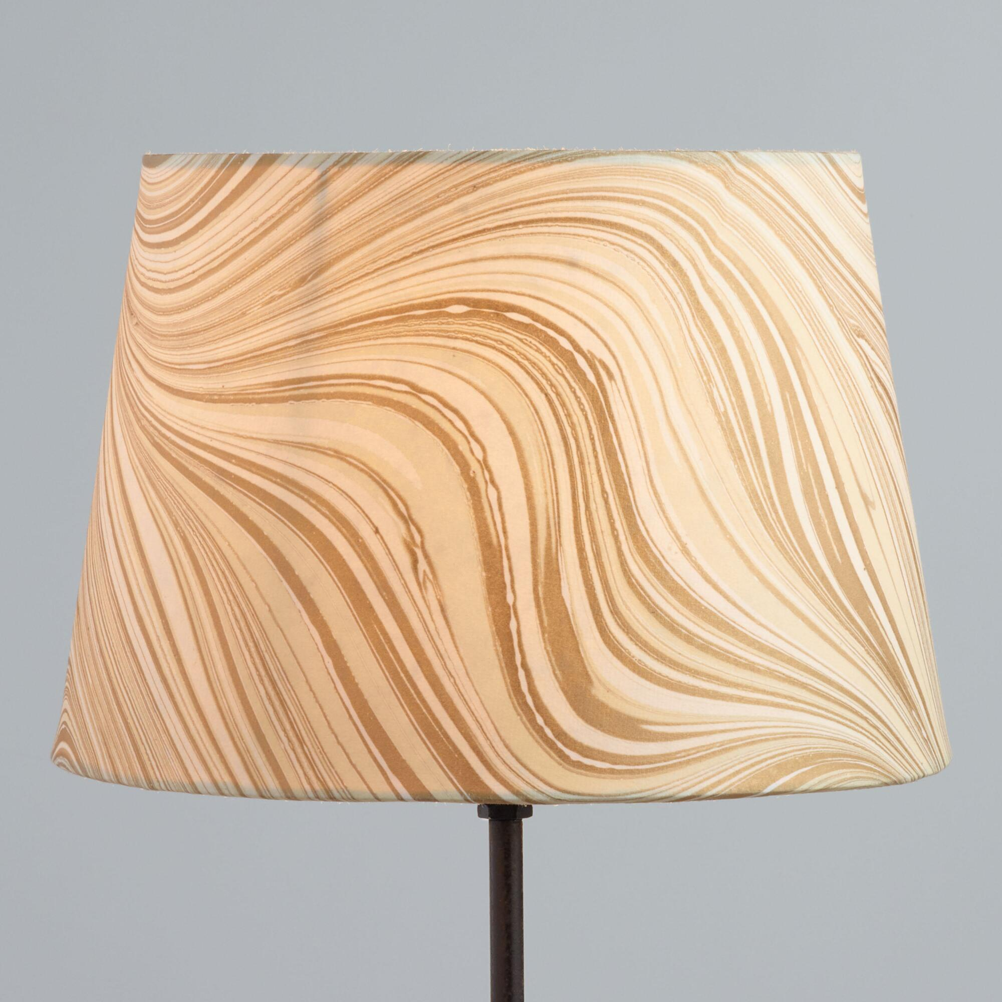 Marbled Gold Accent Lamp Shade by World Market