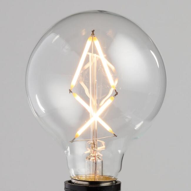 vintage style round led light bulb world market