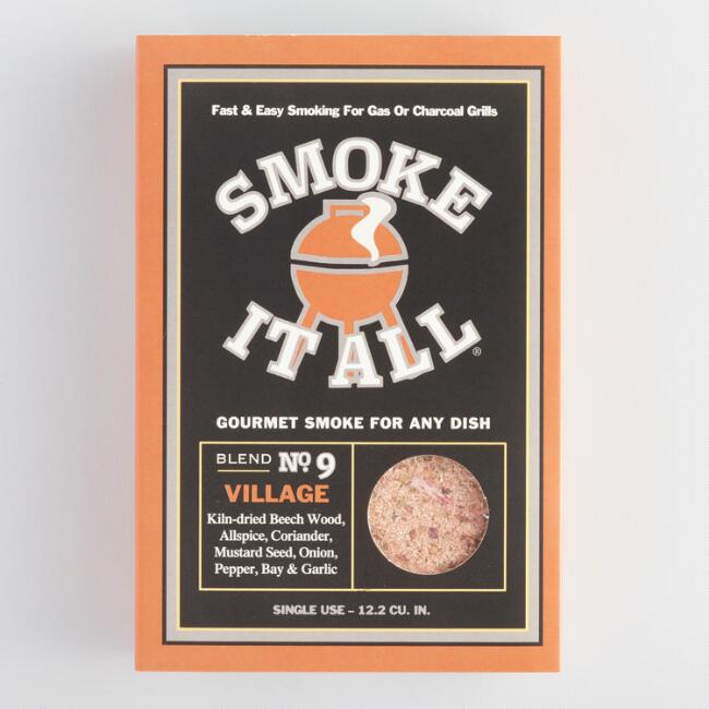 Smoke It All Village Green Wood Smoke Dust