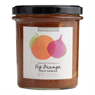 World Market® Fig Orange Fruit Spread Set of 2