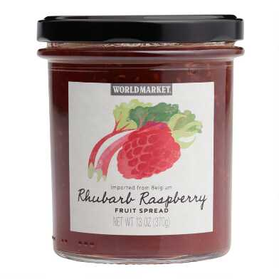World Market® Rhubarb Raspberry Fruit Spread Set of 2