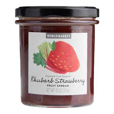 World Market® Rhubarb Strawberry Fruit Spread Set of 2