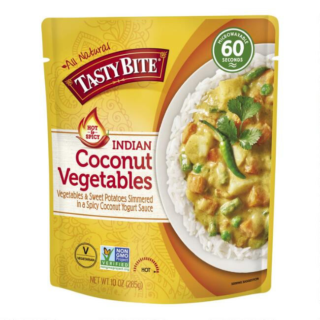 Tasty Bite Indian Coconut Vegetable Curry Set of 6