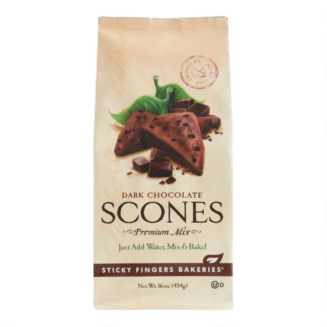 Sticky Fingers Bakeries Dark Chocolate Scones Mix Set of 6