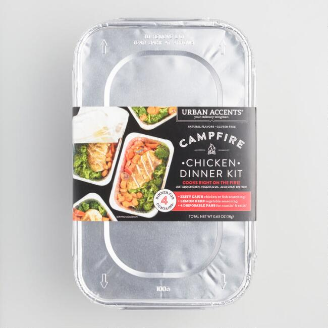 Urban Accents Chicken and Fish Campfire Meal Set