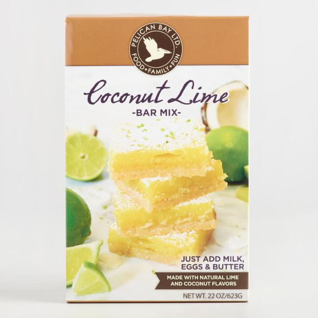 Pelican Bay Coconut Lime Bars