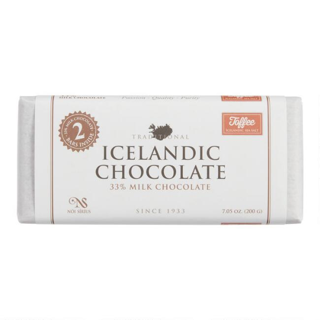 Noi Sirius Icelandic Toffee Milk Chocolate Bar 2 Piece
