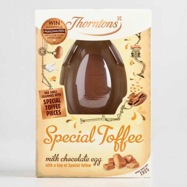 Thorntons Toffee Milk Chocolate Egg