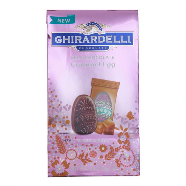 Ghirardelli Caramel Milk Chocolate Eggs