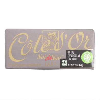 Cote D'Or Connoisseur Belgian Dark Chocolate Bar