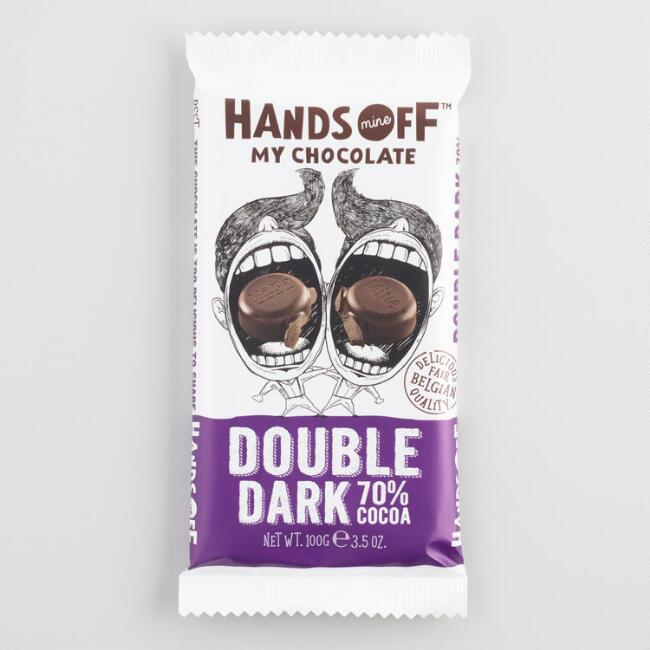 Hands Off My Chocolate 70% Double Dark Chocolate Bar
