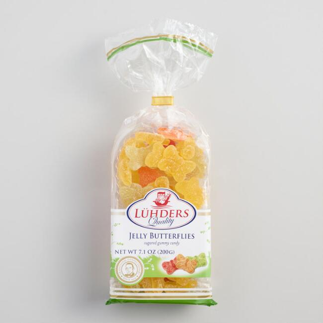Luhders Jelly Butterfly Gummy Candy
