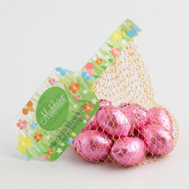 Madelaine Pink Chocolate Eggs