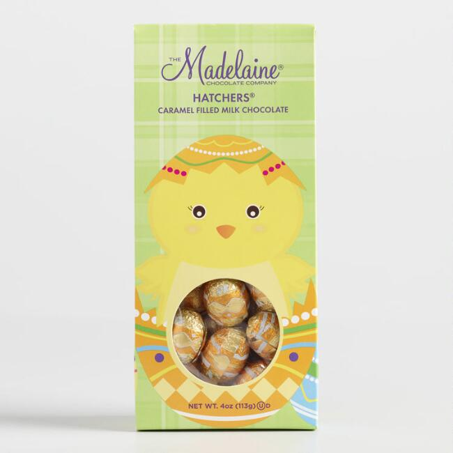Madelaine Hatchers Caramel Milk Chocolates