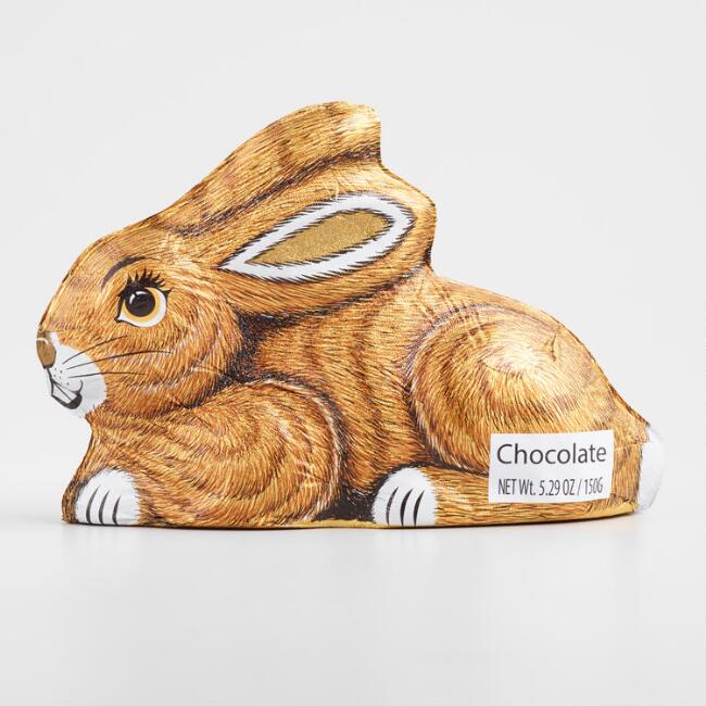 Hollow Sitting Chocolate Easter Bunny