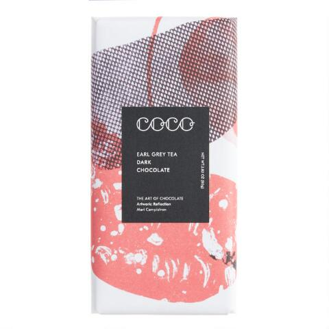 Coco Chocolatier Earl Grey Dark Chocolate Bar