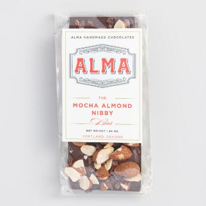 alma mocha almond nibby bar