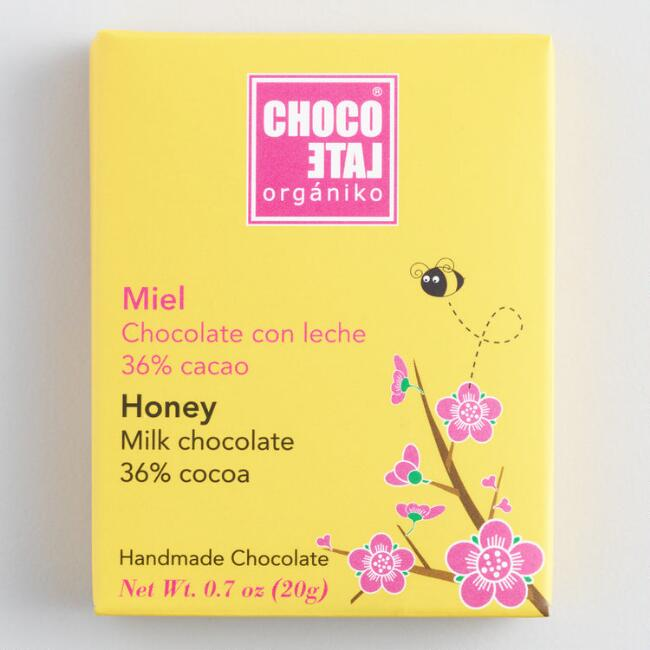 Chocolate Organiko Honey Milk Chocolate Bar