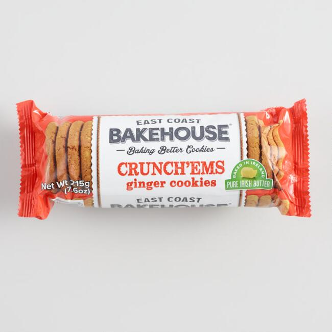 East Coast Bakehouse Crunch'Ems Ginger Crunch Cookies